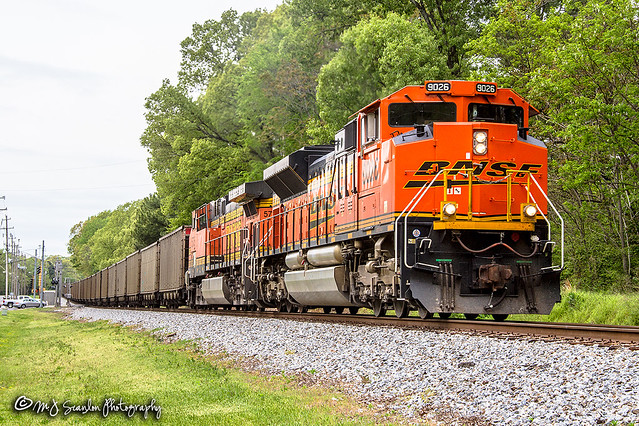 BNSF 9026 | EMD SD70ACe | NS Memphis District