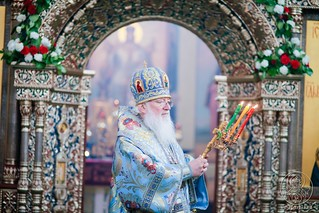 Литургия в Иверском монастыре 730