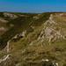 Sentier côtier sur la péninsule de Gower, près de Caswell Bay, Pays de Gales.