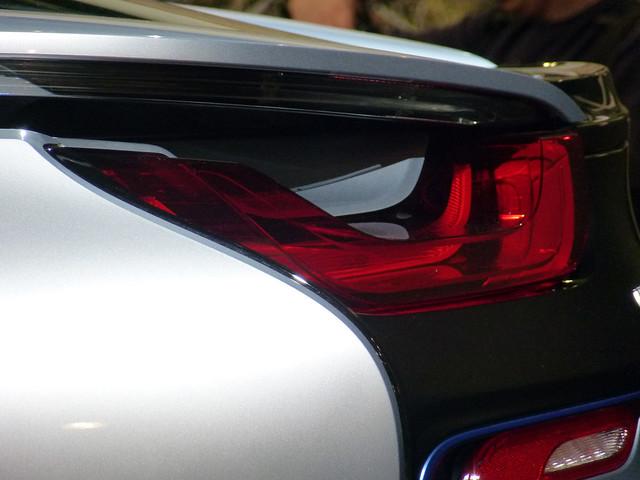 Photokina 2014 - BMW i8 Heck