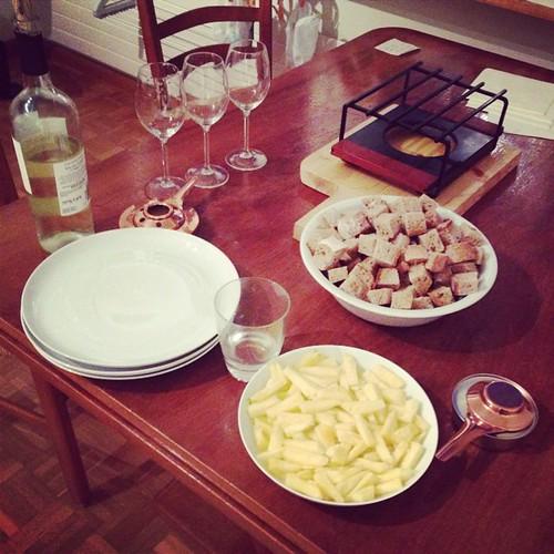 #fondue #night #basel #switzerland #瑞士奶酪火锅 | by Nathan Guo