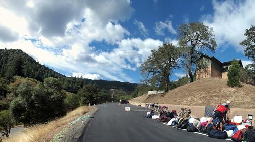bikeride mendocinocounty redwoodvalley abhayagiri buddhistmonastery dharmawheels buddhistbicyclepilgrimage