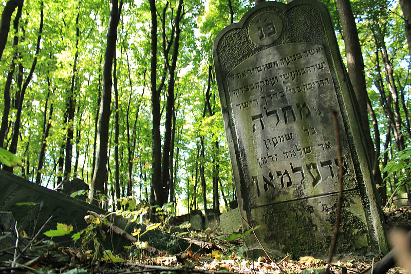 Cmentarz żydowski na Woli