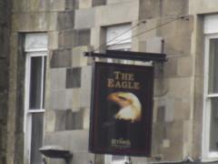 The Eagle - 10 Eagle Parade, Buxton - pub sign