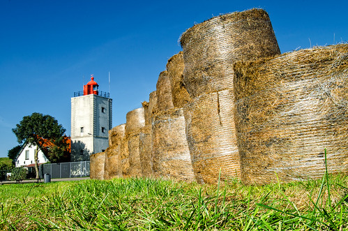 Hay Bales Lighthouse (Color Version)