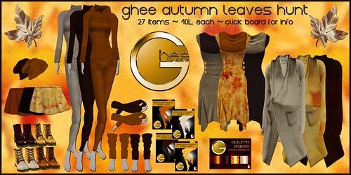 ghee Autumn Leaves Hunt