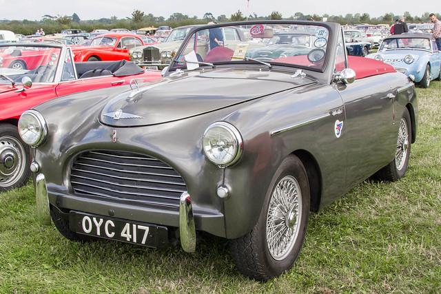 Goodwood Revival 2014 - 1952 Austin A40 Sports (OYC 417)