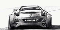 Ferrari California sketch