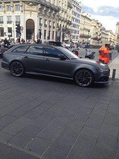 Audi Rs6 Abt Quattro Noir Mat Bordeaux Louishuaume Flickr