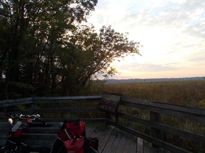 Sunrise - Dyke Marsh September 19, 2014