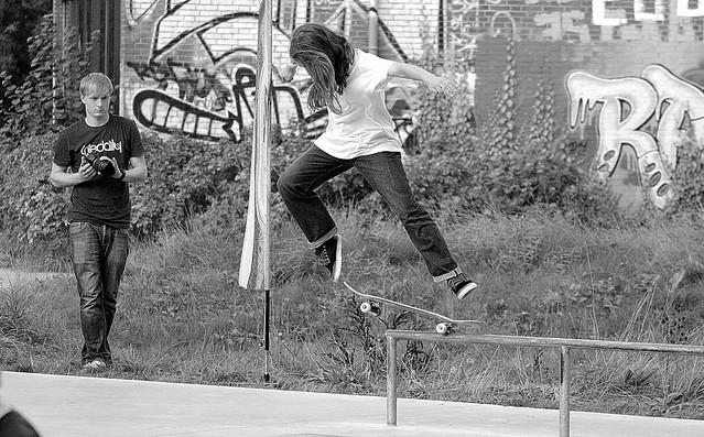 `Skateboard Event´ - Fly Like an Eagle ( Steve Miller Band )