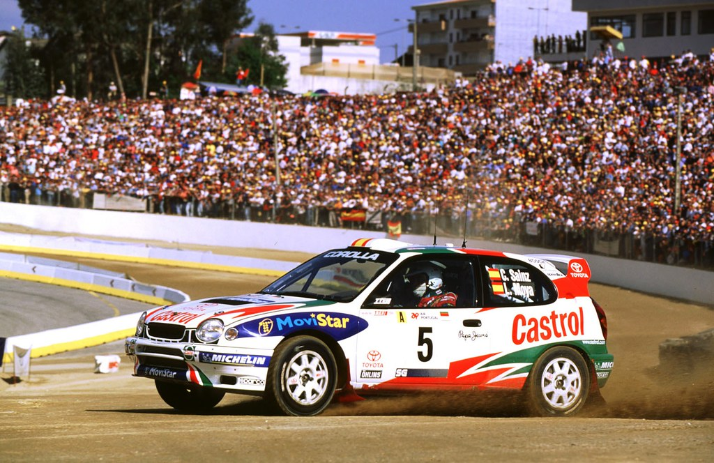 Toyota Corolla WRC of Carlos Sainz at 1998 Rally Portugal | Flickr