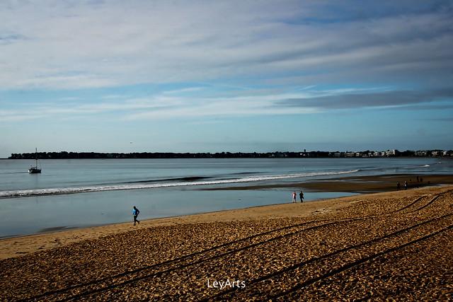 mer _ la plage en hiver