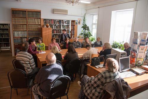 Окт 20 2015 - 14:41 - Круглый стол Использование библиотечных ресурсов в работе с обучающимися