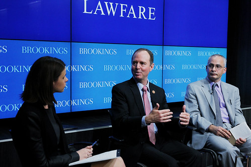 Rep. Schiff outlining Congressional measures that can be taken to protect liberal democracy. | by BrookingsInst