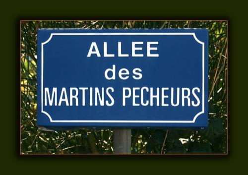 Allée des Martins Pêcheurs
