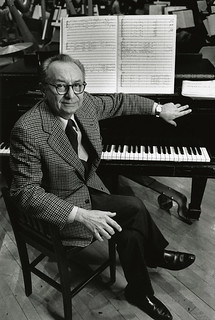Vincent Persichetti in 1981 (Photo by Peter Schaaf; courtesy of the Juilliard Archives) | by poohbear72579