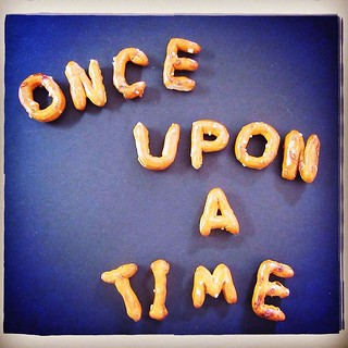13. story. Once upon a time I stumbled across some adorable alphabet pretzels and couldn't resist buying a bag of them... only to realize later that they'd be a perfect prop for today's prompt. The picture was taken, and we ate happily ever after! #fms_st | by Laurel Storey, CZT
