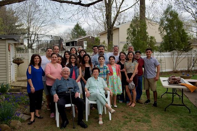 Greek Easter family portrait!