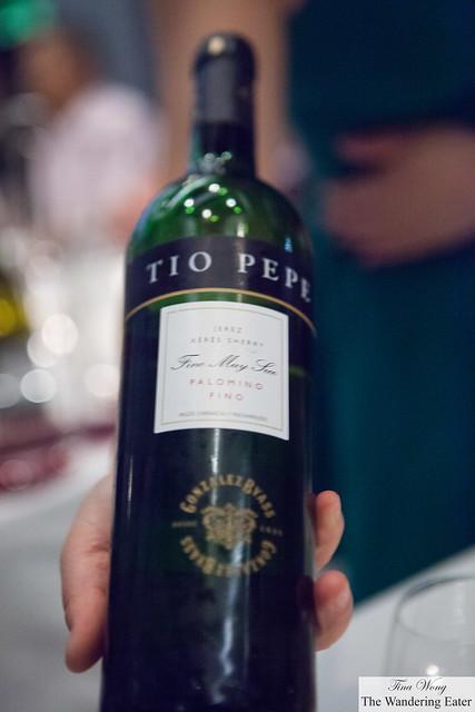 Tio Pepe Jerez Sherry Fino Muy Seco Palomino Fino