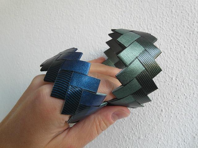 Zag-zig bracelets