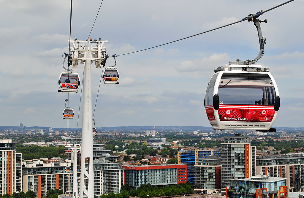 Emirates Air-Line Cable-Car Gondolas