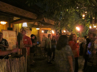 Patio at Mahaloween | by The Tiki Chick