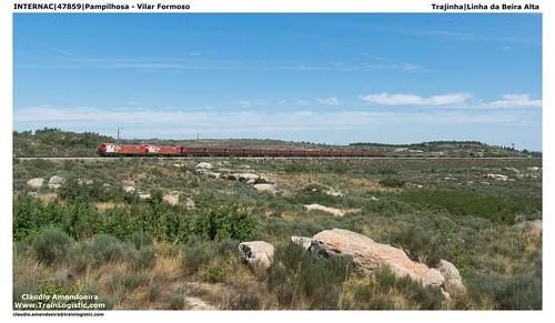 portugal train cp comboios comboio ferro 4700 linhadabeiraalta transfesa renfemercancias trajinha cp4700 cp4705 cp4724