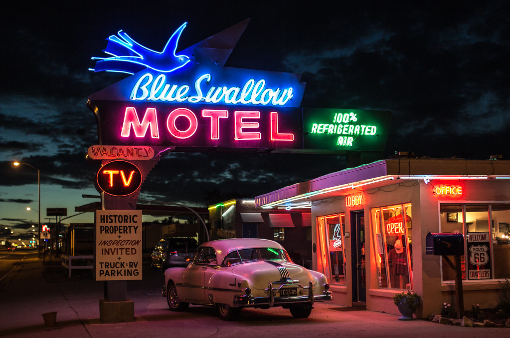 "The ""Blue Swallow Motel"" - Tucumcari"