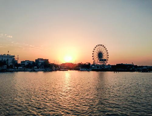 clear sunset basrah