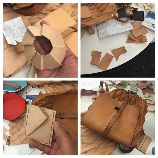 Some of @handandsew's leather creations