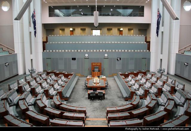House of Representatives, Parliament House, Canberra, Australia