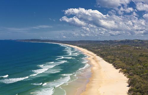 Wategos Beach   by bidkev1 and son (see profile)