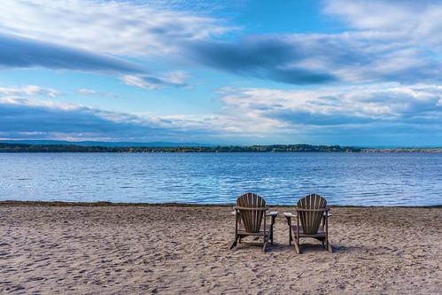 ny newyork clouds chairs upstate stillwater saratogalake mirrorless samanthadecker samsungnx30mmf2 adobephotoshopcs6 samsungnx1100
