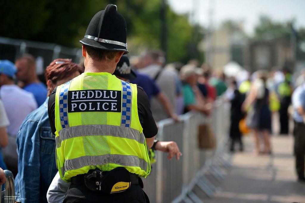 UK Civilian Police Officer | A Welsh civilian police officer… | Flickr