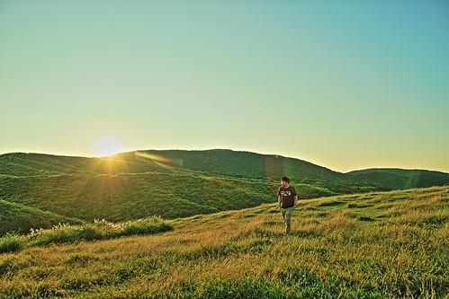 7d taiwan taipei yangmingshan yangmingmountains naionalpark qingtiangang grassland sunrise hdr 台灣 台北 陽明山 國家公園 擎天崗 草原 日出