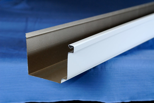 Seamless Aluminum and Copper New Orleans Traditional Box Gutter   by Audubon Gutters