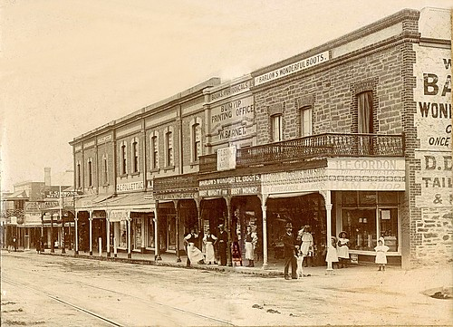 Murray Street c1890 | by Gawler History