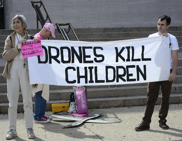2014 Global Day Of Action Against Drones DC, October 4, 2014