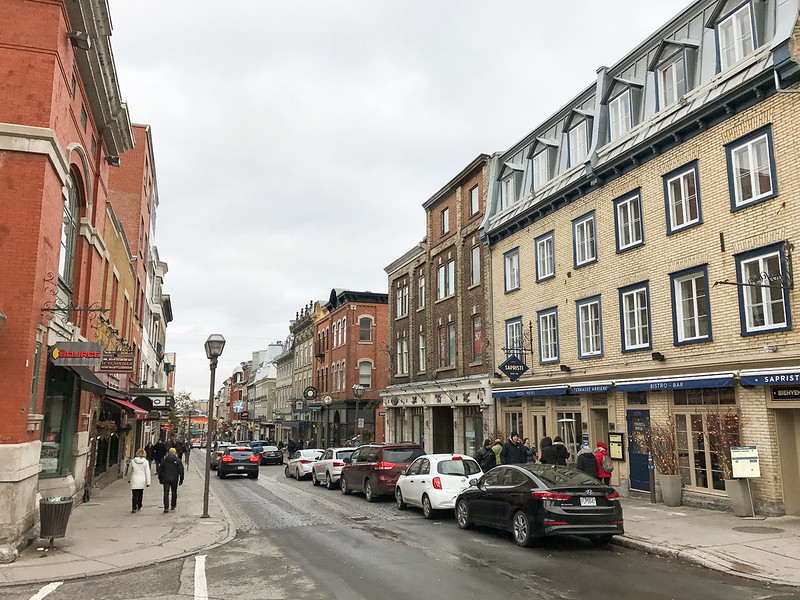 Rue Saint-Jean in Quebec City