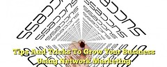 Tips And Tricks To Grow Your Business Using Network Marketing