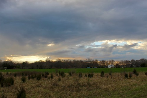 laplata maryland field sunset cloud sky