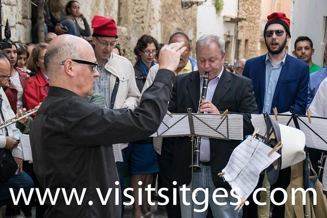 Caramelles al Palau del Rei Moro, Sitges Pasqua 2017