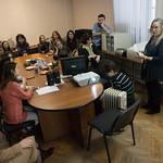 Дек 8 2016 - 14:34 - Американский режиссер и друг 'Ясной Поляны' Сара Уинтер в Литинституте
