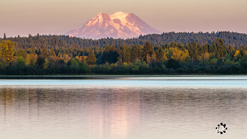 offutlake 2015 mtrainier sunset washingtonstate pnw olympia washington unitedstates us