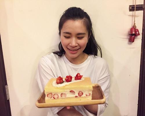 草莓鮮奶油海綿蛋糕 (17) | by DellaKuo