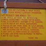 118-Tengboche.Reglas del Monasterio