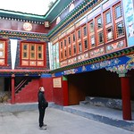 125-Namche Bazaar.Monasterio