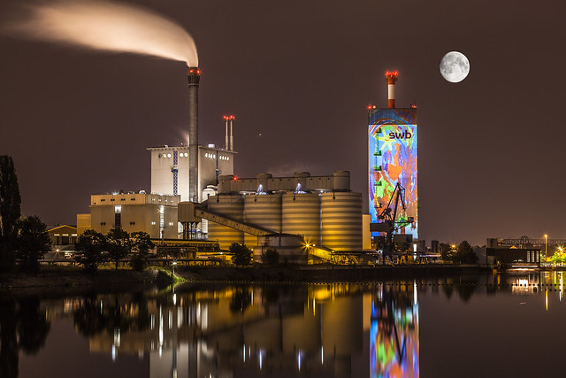 Kraftwerk Hastedt, Illumination