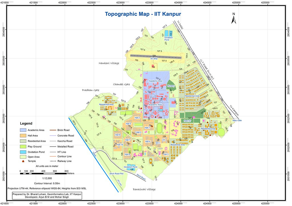 iit kanpur campus map Iit Kanpur Campus Map Flickr iit kanpur campus map